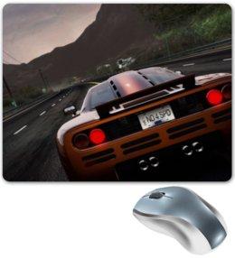"Коврик для мышки ""Need for Speed"" - дорога, машина, горы, need for speed, hot pursuit"