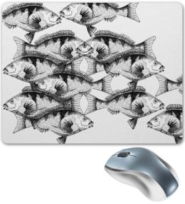 """Коврик для мышки """"рыбыры"""" - дизайн, графика, оригинально"""