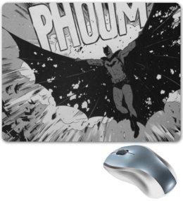 """Коврик для мышки """"Бэтмен"""" - комиксы, batman, бэтмен, dc comics"""
