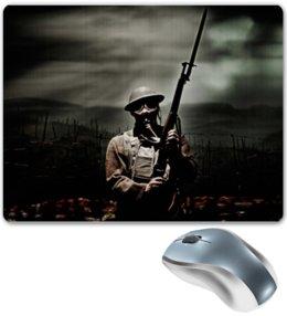 "Коврик для мышки ""Soldier"" - армия, война, war, army, battlefield"