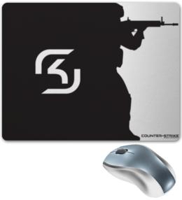 "Коврик для мышки ""SK Gaming"" - counter strike, киберспорт, global offensive, sk gaming, schroet kommando"