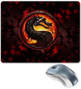 """Коврик для мышки """"Mortal kombat"""" - игры, mortal kombat, мортал комбат, video games, смертельная битва"""
