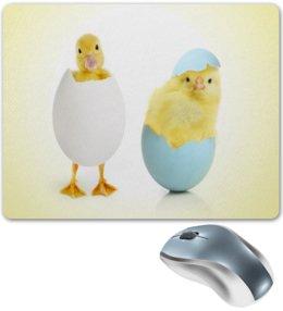 """Коврик для мышки """"Новая жизнь"""" - птенец, утка, цыпленок, яйцо, утенок"""