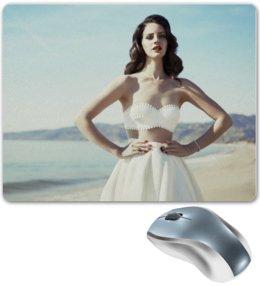 """Коврик для мышки """"Lana Del Rey """" - море, lana del rey, лана дель рей"""