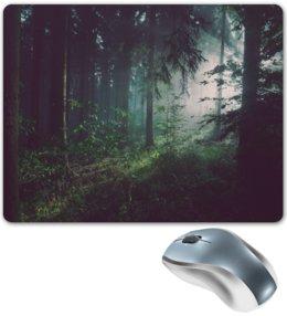 """Коврик для мышки """"Природа леса"""" - лес, деревья, природа, пейзаж, трава"""