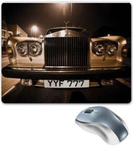 """Коврик для мышки """"Шикарный Rolls Royce"""" - автомобиль, алина макарова, rolls royce, роллс ройс"""