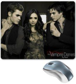 """Коврик для мышки """"Дневники вампира"""" - фэнтези, мистика, дневники вампира, the vampire diaries, vampire diaries"""