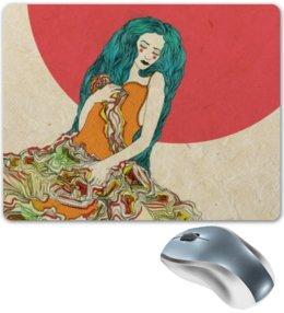 """Коврик для мышки """"Sleeping beauty"""" - арт, популярные, рисунок, оригинально, креативно"""