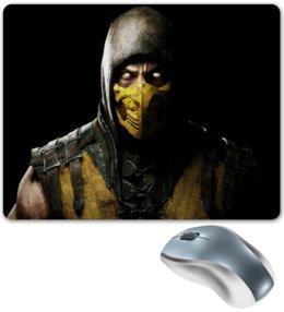 """Коврик для мышки """"Mortal Combat"""" - игры, воин, саб зиро, mortal combat, компьютерные"""