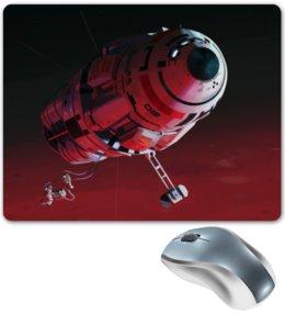 """Коврик для мышки """"Космический корабль"""" - астронавт, digital art, космический корабль, spaceship"""