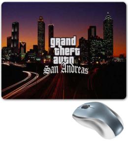 """Коврик для мышки """"GTA San Andreas"""" - арт, gta, sa, san, andreas"""
