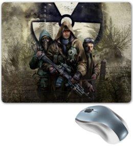 """Коврик для мышки """"Сталкер"""" - сталкер, stalker, video games"""