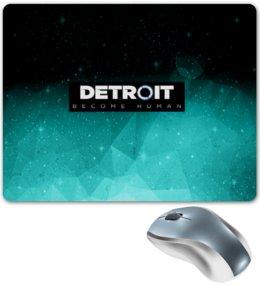 """Коврик для мышки """"Detroit become human"""" - игры, костюм, detroit, детройт, detroit become human"""