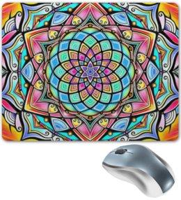 """Коврик для мышки """"Mandala HD2"""" - узор, ретро, классика, этно, симметрия"""