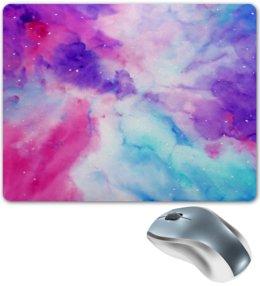 """Коврик для мышки """"Космос"""" - краски, пятна, небо, космос, звезды"""