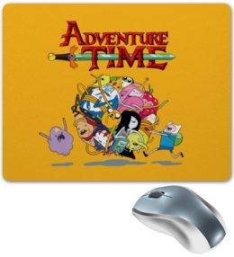 "Коврик для мышки ""Время приключений Adventure Time"" - adventure time, время приключений"