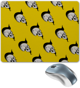 """Коврик для мышки """"SKULLS"""" - череп, праздник, рисунок, русский, яркие"""