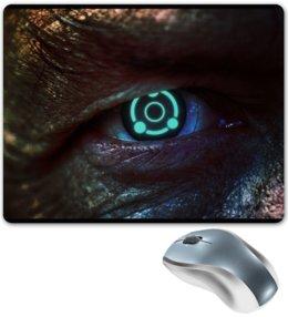 """Коврик для мышки """"Масс Эффект"""" - глаз, mass effect, масс эффект, illusive man, ghost eye"""