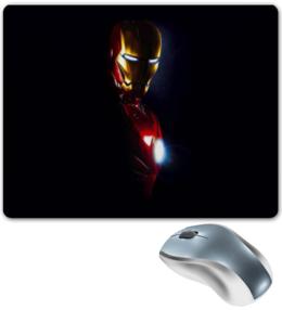 "Коврик для мышки ""Iron Man"" - marvel, мстители, марвел, железный человек, iron man, тони старк, старк"