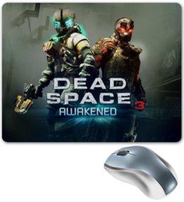 "Коврик для мышки ""Dead Space"" - мертвый космос, dead space коврик, для мыши коврик, игровая тема"