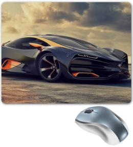 """Коврик для мышки """"Суперкар"""" - авто, машина, спорткар, суперкар"""