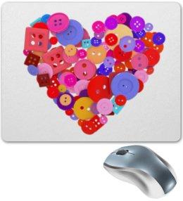 """Коврик для мышки """"День всех влюбленных"""" - любовь, день святого валентина, валентинка, i love you, день влюбленных"""