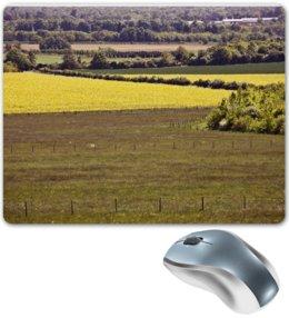 """Коврик для мышки """"Весенние Английские луга"""" - природа, алина макарова, поля, луга"""