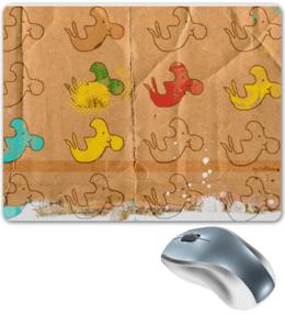 """Коврик для мышки """"Дельфинарий. CAR-T-ON"""" - арт, стиль, рисунок, в подарок, оригинально, коврик, дельфины"""