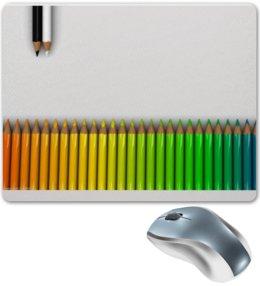 "Коврик для мышки ""Карандаши"" - творчество, яркий, хобби, colour"