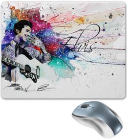 """Коврик для мышки """"Elvis"""" - арт, в подарок, оригинально"""