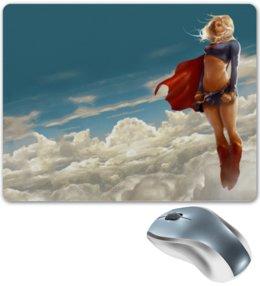 "Коврик для мышки ""Supergirl"" - арт, девушка, комиксы"