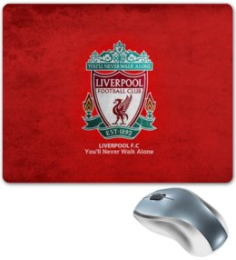 "Коврик для мышки ""Liverpool"" - футбол, football, ливерпуль, liverpool"