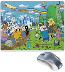 "Коврик для мышки ""коврик для мыши Adventure time"""