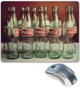 """Коврик для мышки """"Кока Кола"""" - coca cola, кола, кока кола"""
