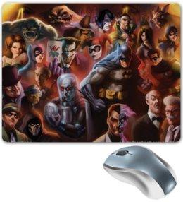 "Коврик для мышки ""Batman / Бэтмен"" - арт, batman, бэтмен, темный рыцарь, dc comics"