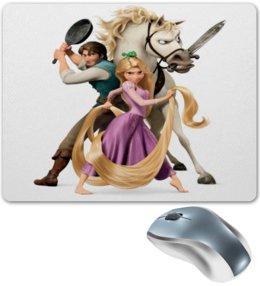 """Коврик для мышки """"Рапунцель"""" - смешные, мультфильмы, мульт, рапунцель, конь"""