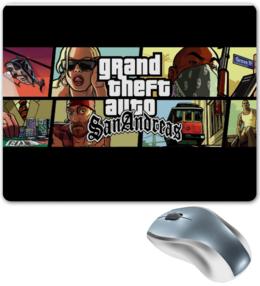 """Коврик для мышки """"Grand Theft Auto"""" - популярные, коврик"""