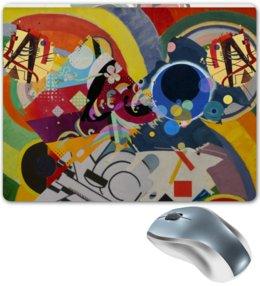 """Коврик для мышки """"Абстракционизм"""" - картина, живопись, супрематизм, абстракционизм, орфизм"""
