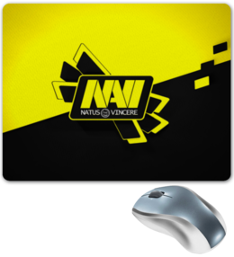 "Коврик для мышки ""NAVI CS GO"" - cs, counter strike, navi, go, cs go"