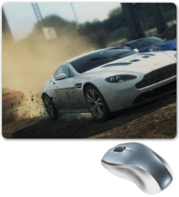 "Коврик для мышки ""Need for Speed"" - need for speed, most wanted, porsche panamera turbo, гонка, chevy camaro zl1"