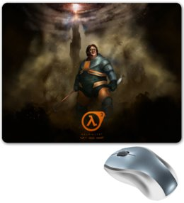 """Коврик для мышки """"Half-Life"""" - valve, half-life, гейб ньюэлл"""