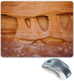 "Коврик для мышки ""Текстура пустынного камня"" - пустыня, камень, текстура, фактура, алина макарова"