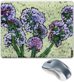 """Коврик для мышки """"Луковый коврик."""" - красиво, цветы, оригинально, природа, пастель, кира, коврики для мыши"""