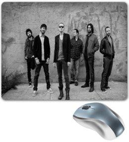 "Коврик для мышки ""Linkin Park"" - музыка, рок, linkin park, группы, линкин парк"