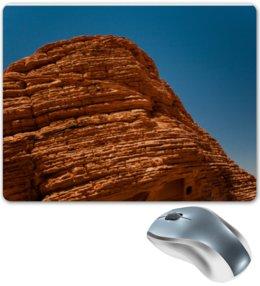 "Коврик для мышки ""Текстура пустынного камня"" - камень, текстура, фактура, алина макарова, скала"