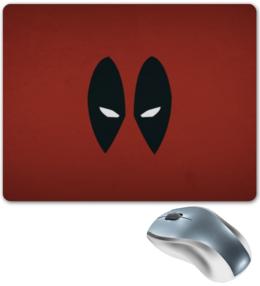 """Коврик для мышки """"Deadpool Mouse pad"""" - прикольно, deadpool, дедпул"""