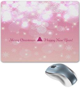 """Коврик для мышки """"Christmas"""" - праздник, новый год, рождество, снежинки, christmas"""