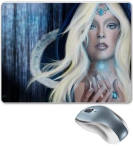 """Коврик для мышки """"Art Crystal Maiden """" - арт, рисунок, в подарок, оригинально"""