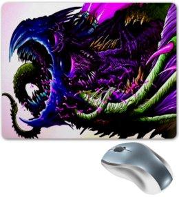 """Коврик для мышки """"Синий зверь"""" - игры, монстр, яркие, зверь, скорость"""