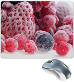 """Коврик для мышки """"ягоды"""" - в подарок, оригинально"""